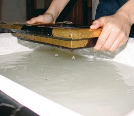 fabrication d'une feuille de papier