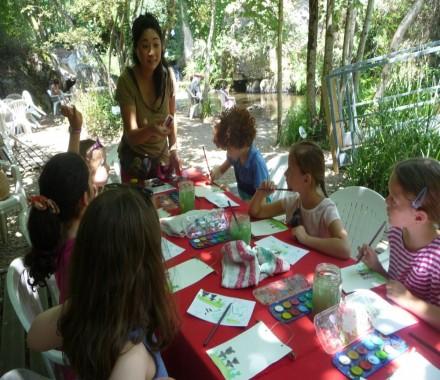 Atelier ENFANT : aquarelle et calligraphie