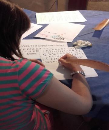 Atelier Calligraphie avec Lucile GESTA