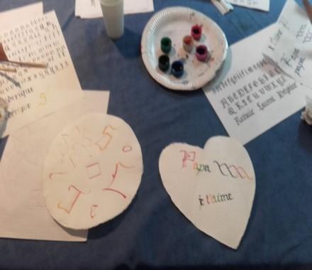 Ateliers calligraphie Les Ecritures Gothiques avec Lucile GESTA