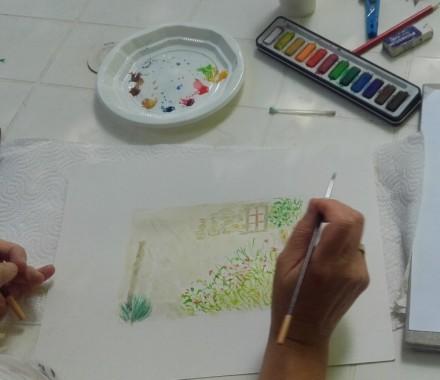 Atelier Aquarelle pour adulte avec Chris Prigent