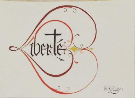 Stage de Calligraphie avec Benjamin Rialtey du 19 au 28 juillet