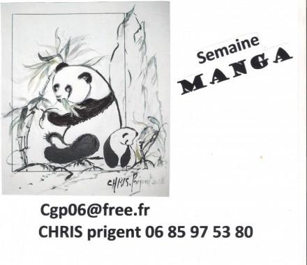 Atelier Aquarelle ENFANT / Adulte avec Chris PRIGENT : Le Manga