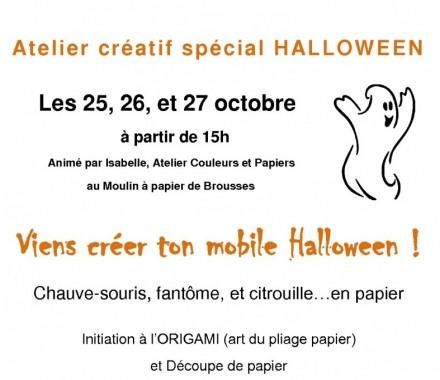 Atelier ORIGAMI spécial Halloween