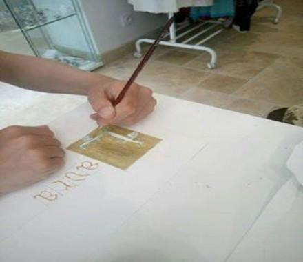 Atelier Enfant : Calligraphie et Lettrine avec Benjamin Rialtey