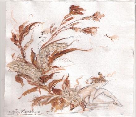 Atelier Aquarelle avec Chris Prigent , artiste peintre