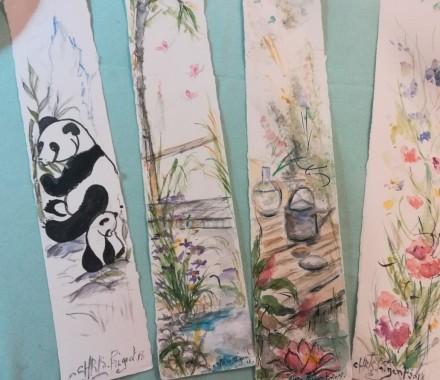 Atelier ENFANT Aquarelle avec Chris Prigent