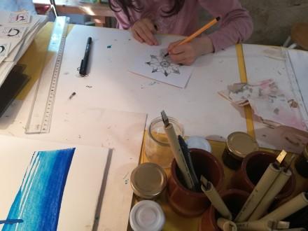Atelier Mandala (ENFANT et Adulte) avec Laurence Cron du 19-07-20 au 24-07-20