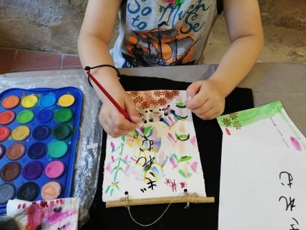 Atelier ENFANT : Aquarelle avec Ayuko Miyakawa du 05-04-20 au 18-04-20