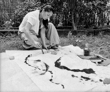 Initiation calligraphie japonaise avec Ayuko Miyakawa