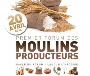 PREMIER FORUM DES MOULINS PRODUCTEURS