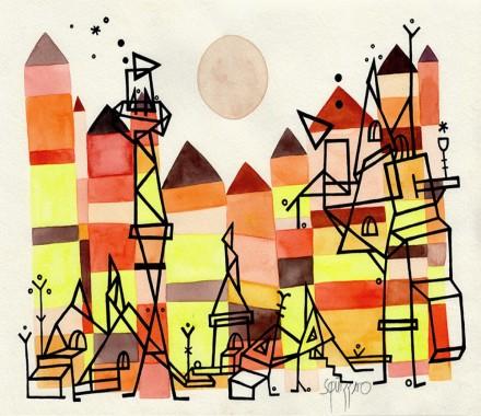 Atelier en FAMILLE avec Antony Squizatto : aquarelle et encre de chine